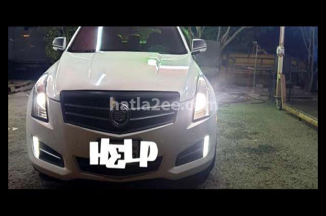 ATS Cadillac White