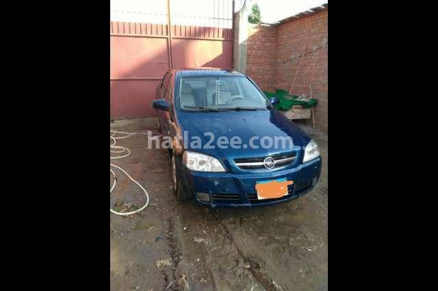 Astra Opel الأزرق الداكن