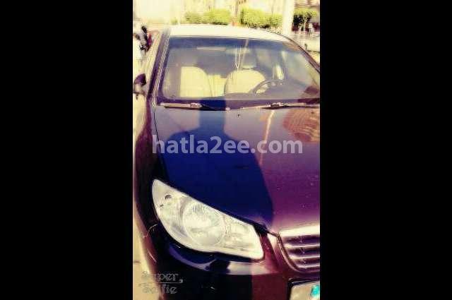 Elantra HD Hyundai Dark red