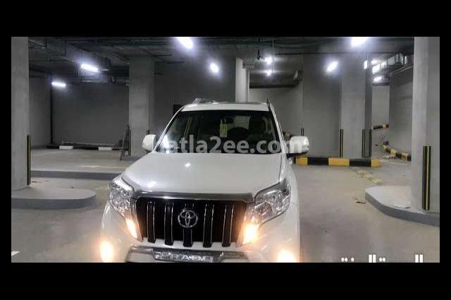 Prado Toyota White