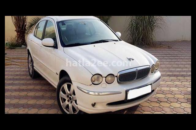 X-Type Jaguar White