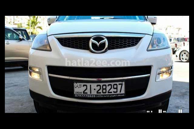CX-9 Mazda White