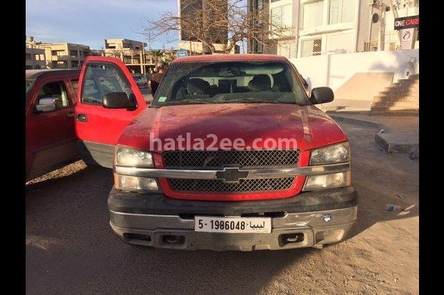 Silverado Chevrolet Red