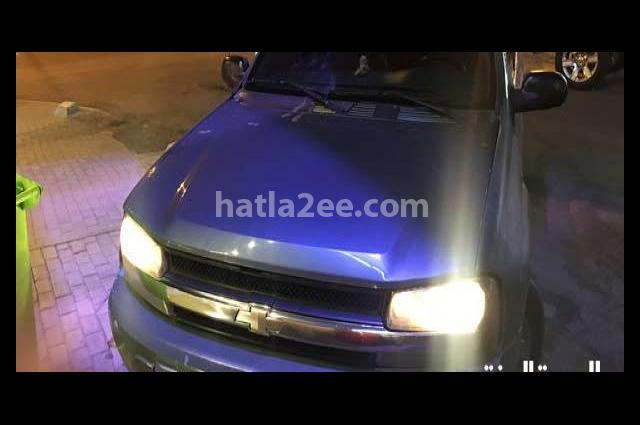 Trial Blazer Chevrolet أخضر