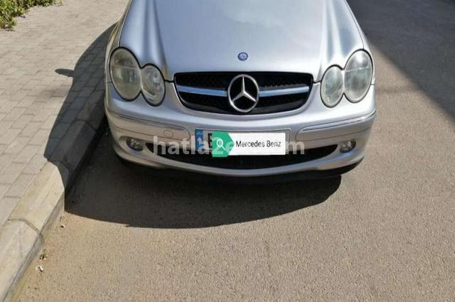 CLK Mercedes فضي
