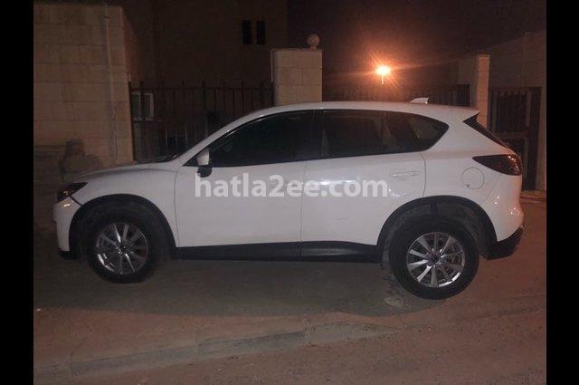 CX 5 Mazda أبيض