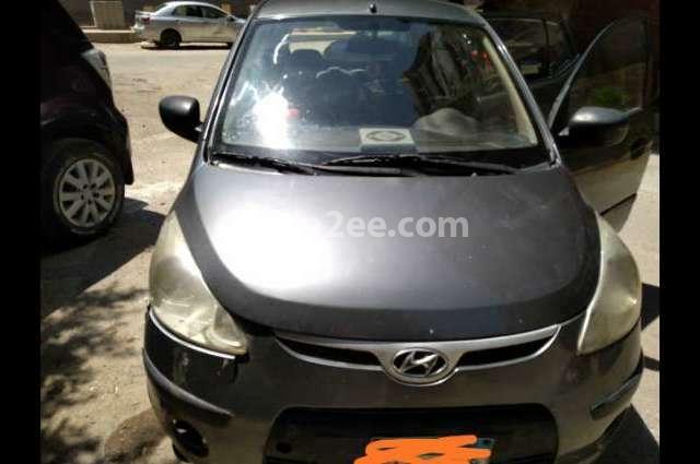 I10 Hyundai رمادي