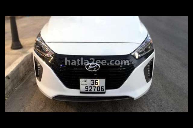 Ioniq Hyundai أبيض