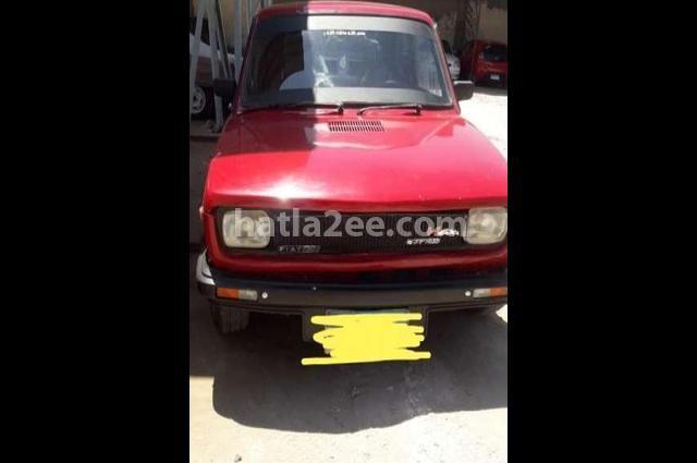 127 Fiat احمر
