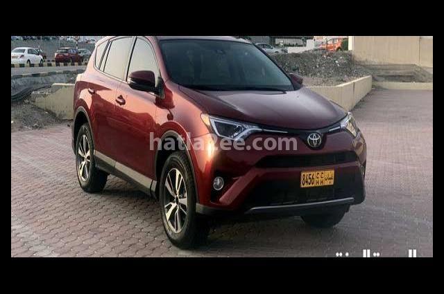 Rav 4 Toyota احمر
