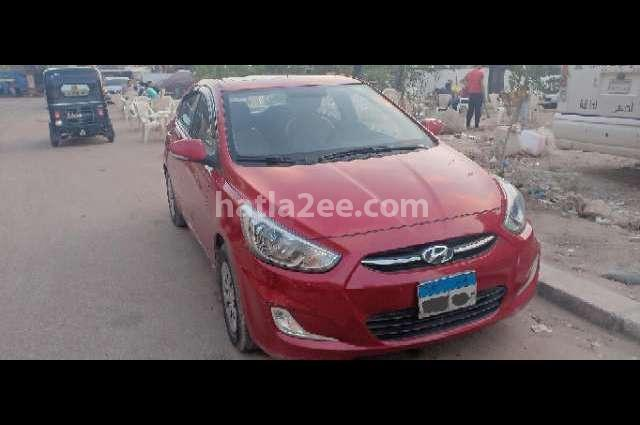 Accent RB Hyundai Dark red