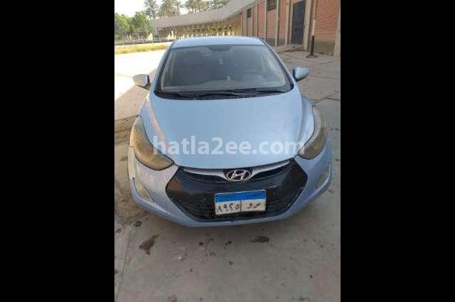 Elantra MD Hyundai Cyan