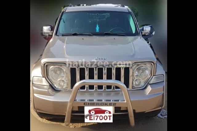 Cherokee Jeep رمادي