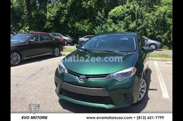 Corolla Toyota أخضر