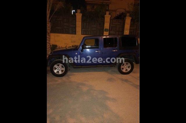 Wrangler Jeep Blue