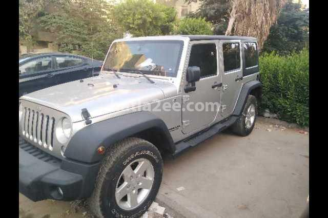 Wrangler Jeep Silver