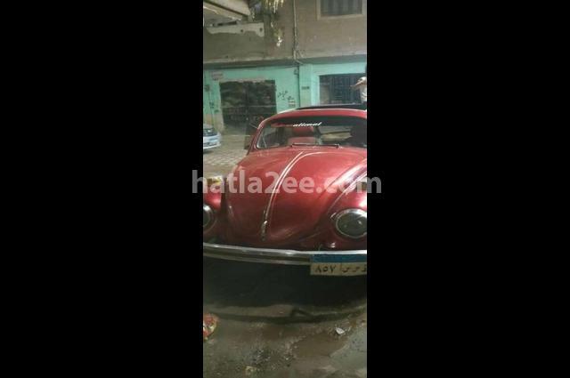 Cross Volkswagen احمر