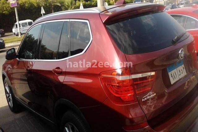 X3 BMW Dark red