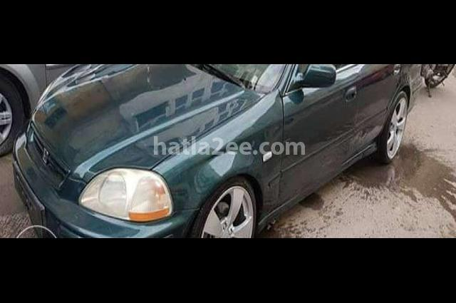Civic Honda اخضر غامق