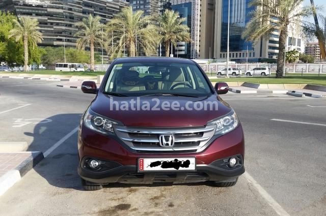 CRV Honda احمر غامق