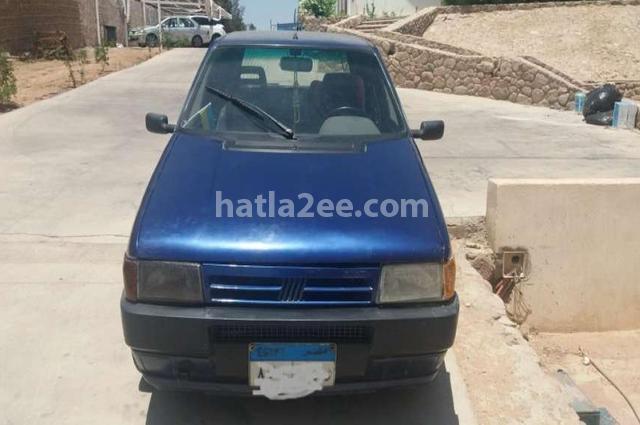 Uno Fiat أزرق
