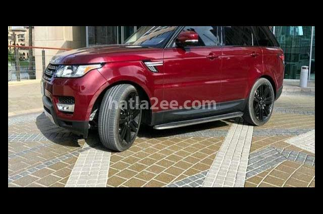 Range Rover Land Rover Red
