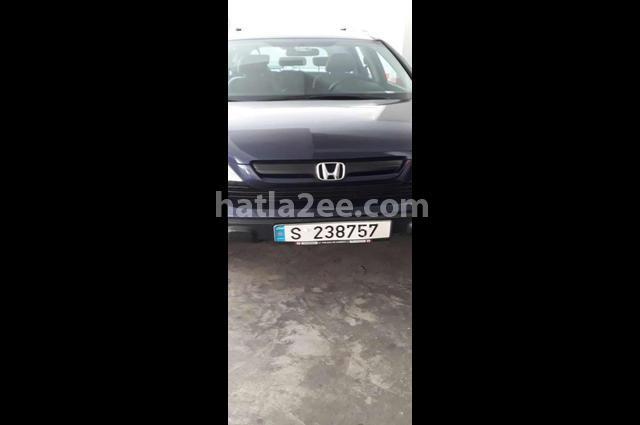 CRV Honda الأزرق الداكن