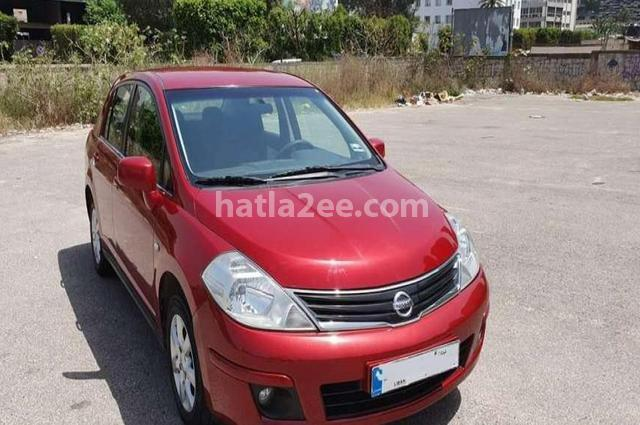 Tiida Nissan Red