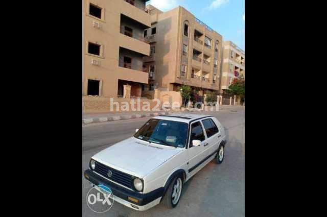 Golf Volkswagen أبيض