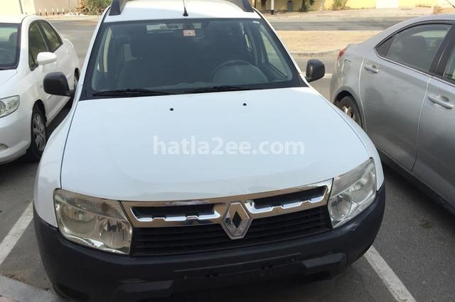 Duster Renault أبيض