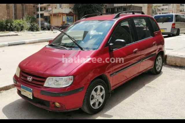Matrix Hyundai احمر غامق
