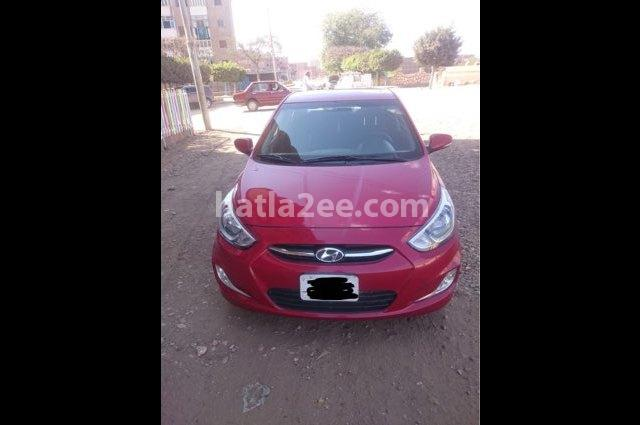 Accent RB Hyundai Red