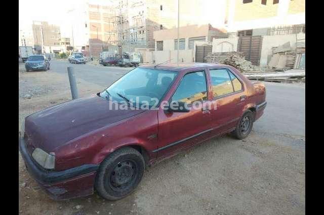 Rainbow Renault احمر غامق