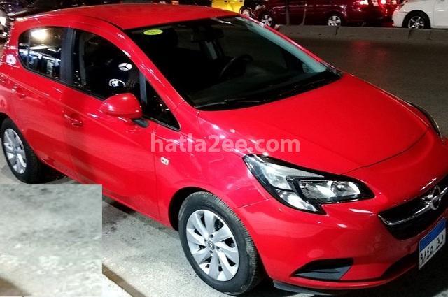 Corsa Opel احمر