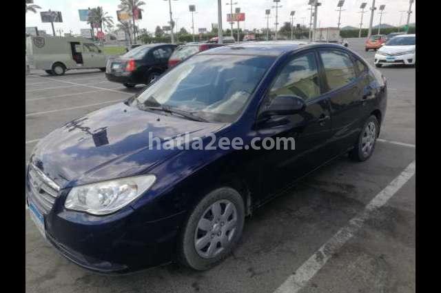 Elantra HD Hyundai Blue