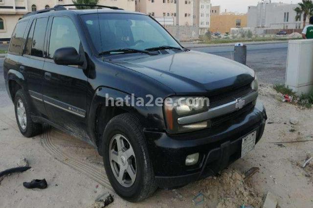Trial Blazer Chevrolet أسود