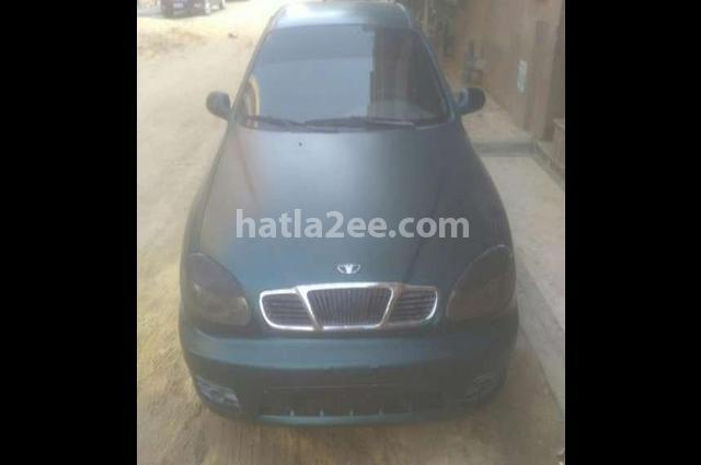 Lanos Daewoo Dark green