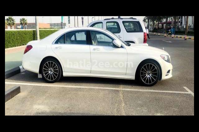 S 550 Mercedes White