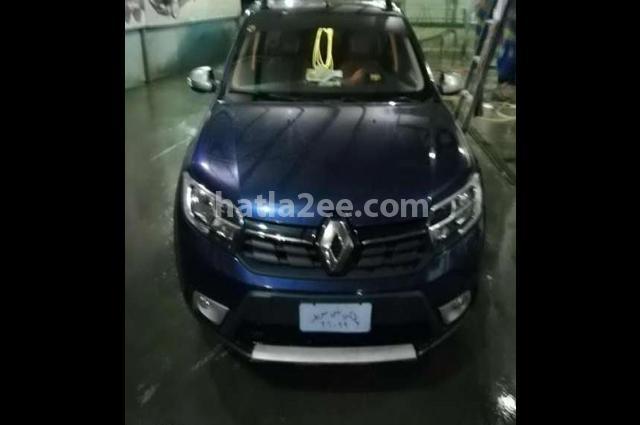 Sandero Renault Dark blue