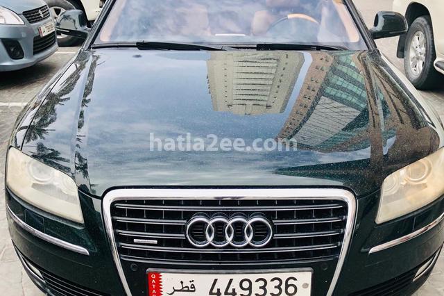 A8 Audi Dark green