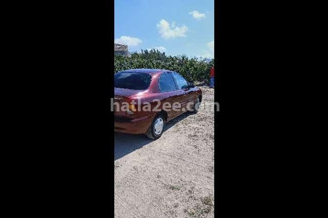 Lanos Chevrolet Dark red