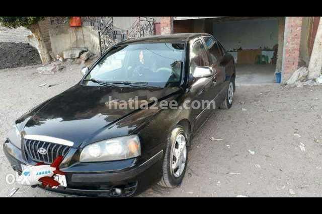Elantra Hyundai Black