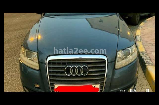 A6 Audi أزرق