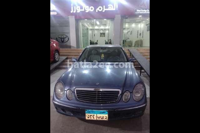 E 320 Mercedes Cyan