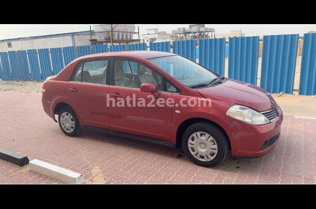 Tiida Nissan Red