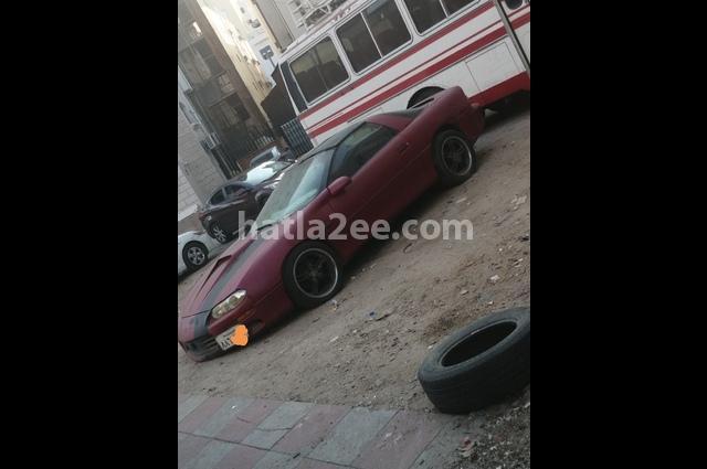 Camaro Chevrolet Red