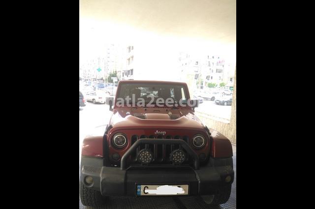 Wrangler Unlimited Jeep Dark red