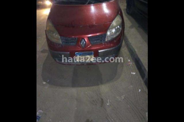 SCENIC Renault احمر غامق