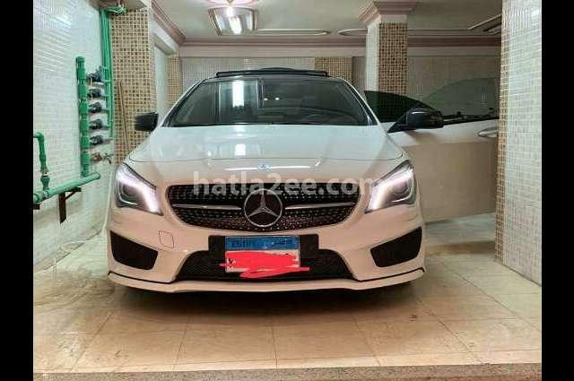 CLA 200 Mercedes White