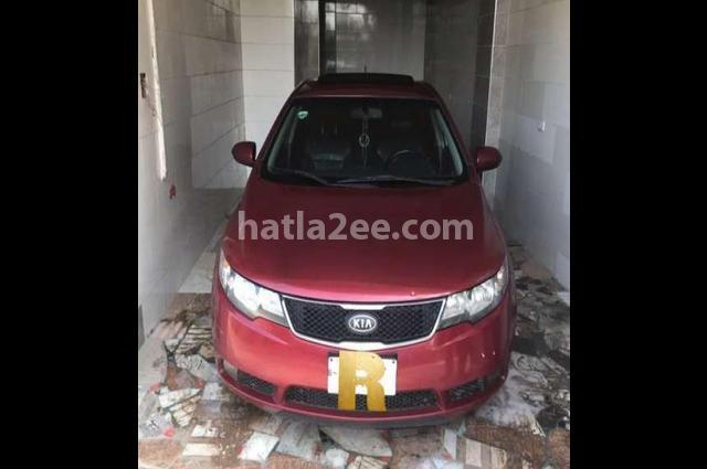 Cerato Kia Dark red